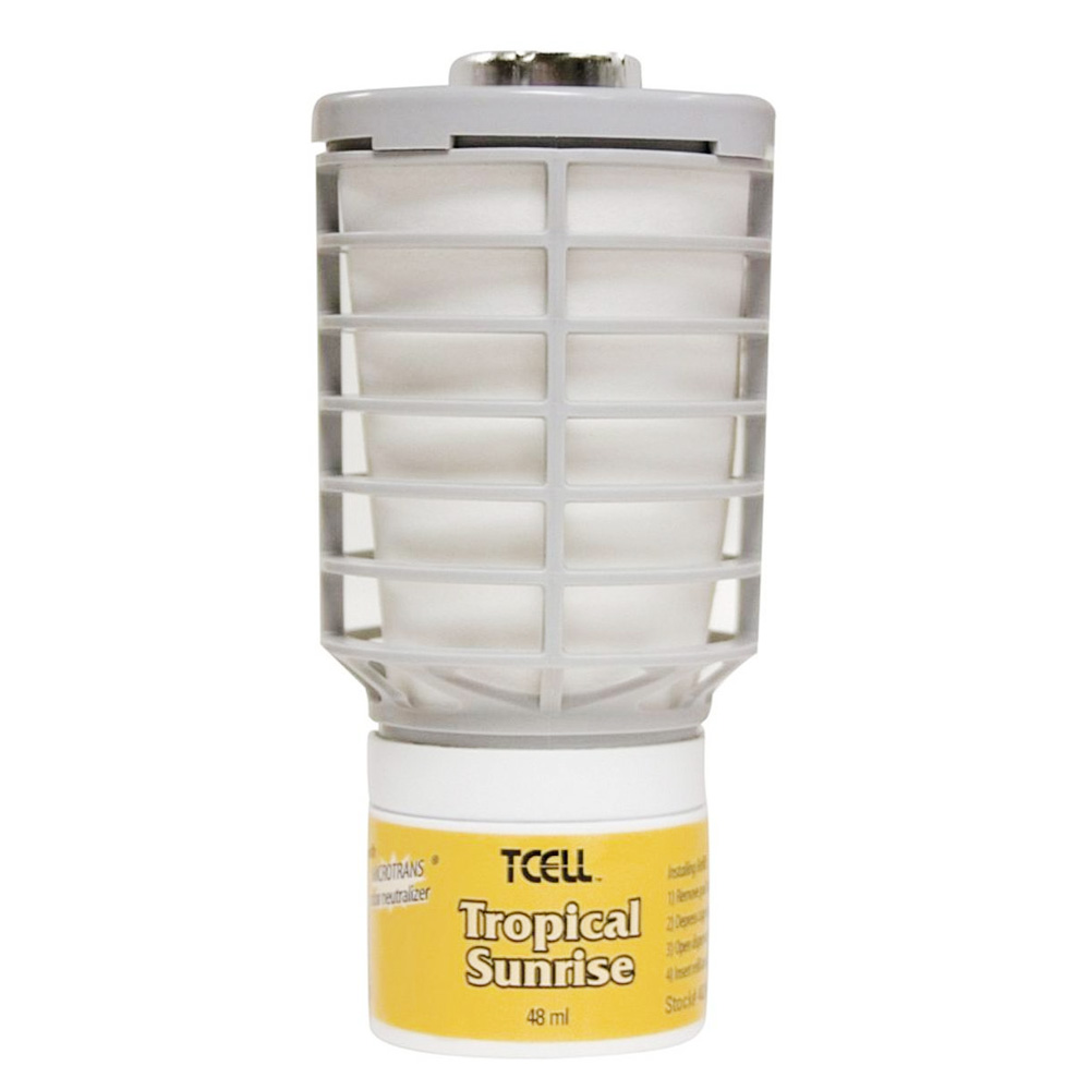Rubbermaid 48 ml Tropical Sunrise Tcell Refill ForFan Dispenser FG402472