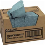 "Chicopee Blue 13.5""X15"" Worxwell Heavy Duty Towels 8487"
