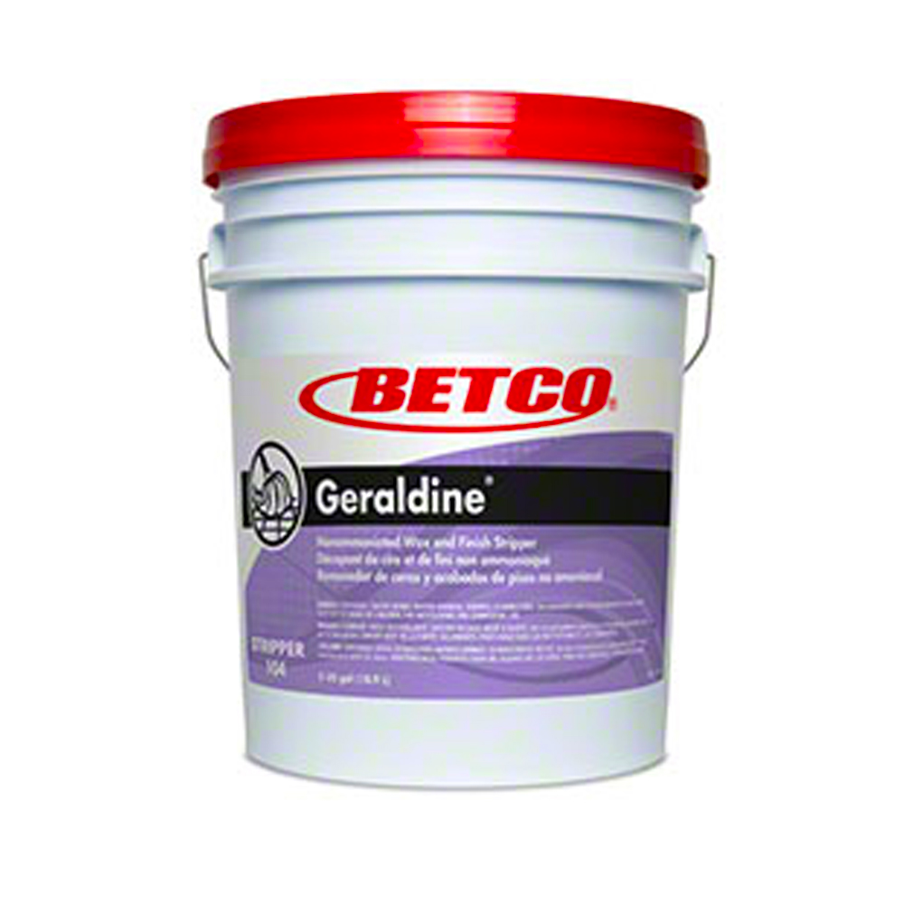 Betco Corp. - Geraldine 5 Gallon Non Ammoniated   Floor Wax and Finish Stripper 1040500