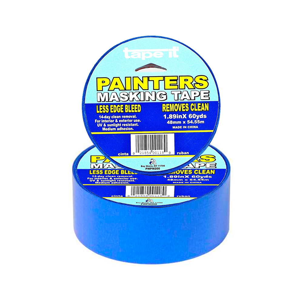 "Tape It Blue 2""x60 Yards Painters Tape PWPM-200"