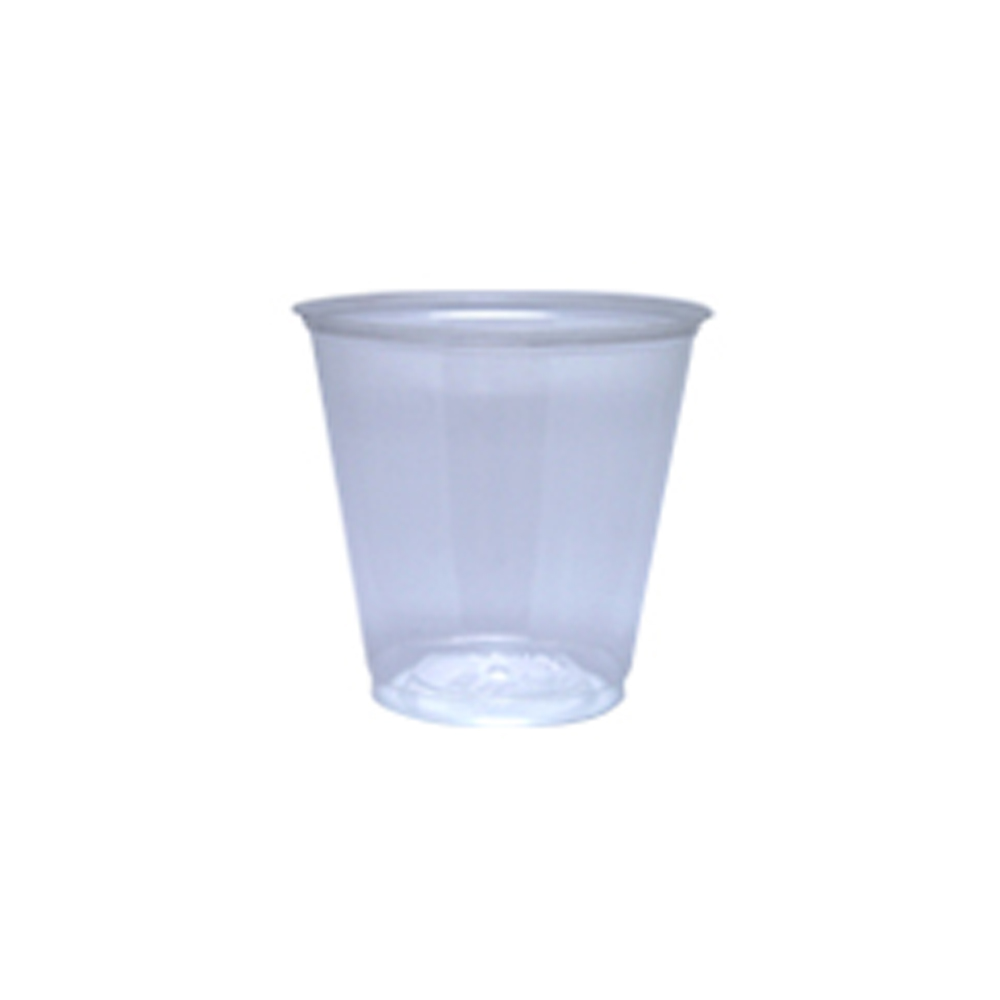 WNA/Comet - Polar XL Clear 3.5oz Plastic Sampler Cup 55003