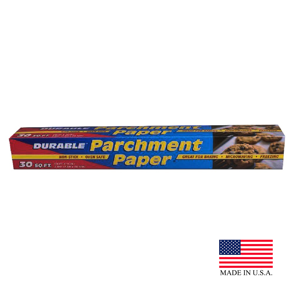 Durable 30sq Ft Parchment Paper HPARCH30-24
