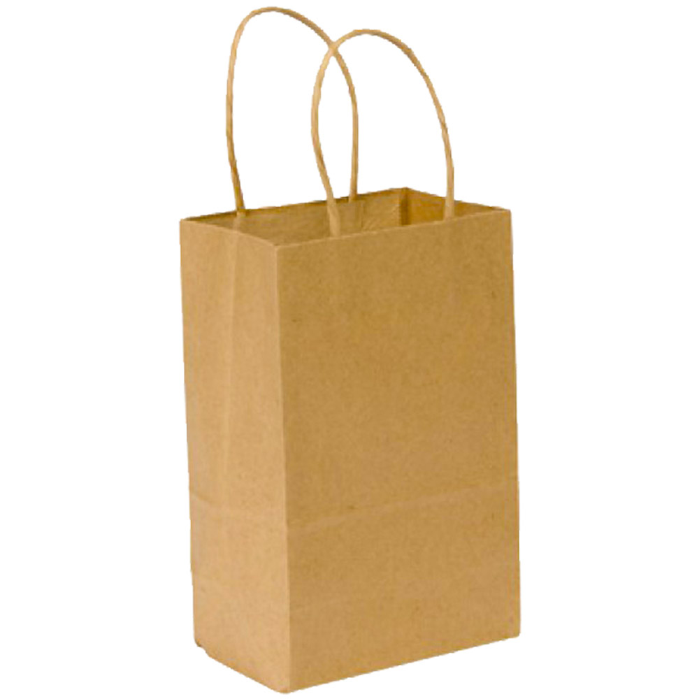 Duro Bag Kraft 60lb Plain Gem Recycled Paper Bag  87093