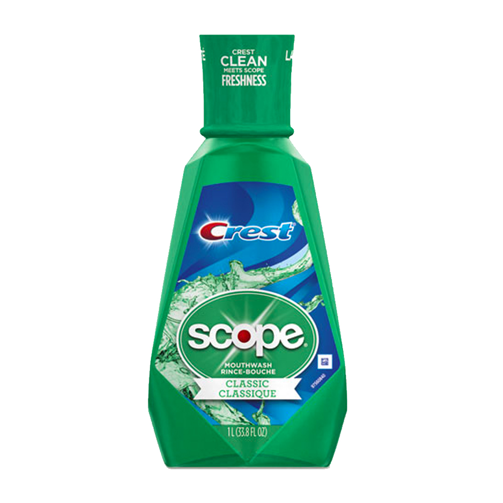 Procter & Gamble - Scope 1 liter Classic Mint     Mouth Wash PGC95662