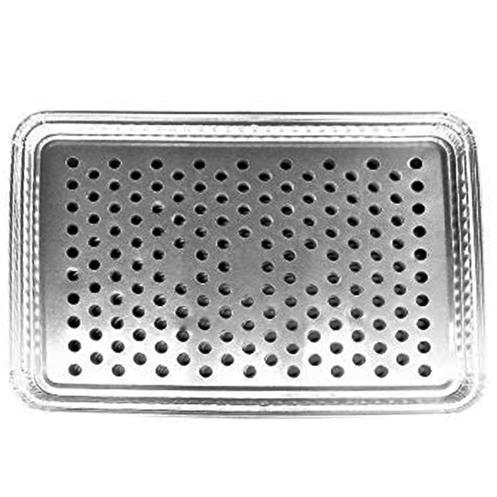 Durable Inc. - Aluminum Disposable Rectangular BBQ Grill Topper 7200-100