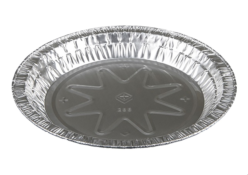 "Pactiv Aluminum 8"" Medium Pie Plate 28830Y"