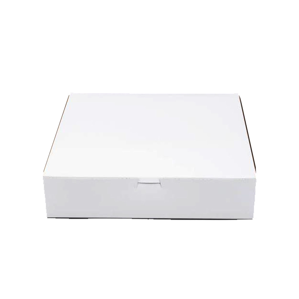 "Boxit Corp White 12""x12""x2"" Cakebox 12123B-261"