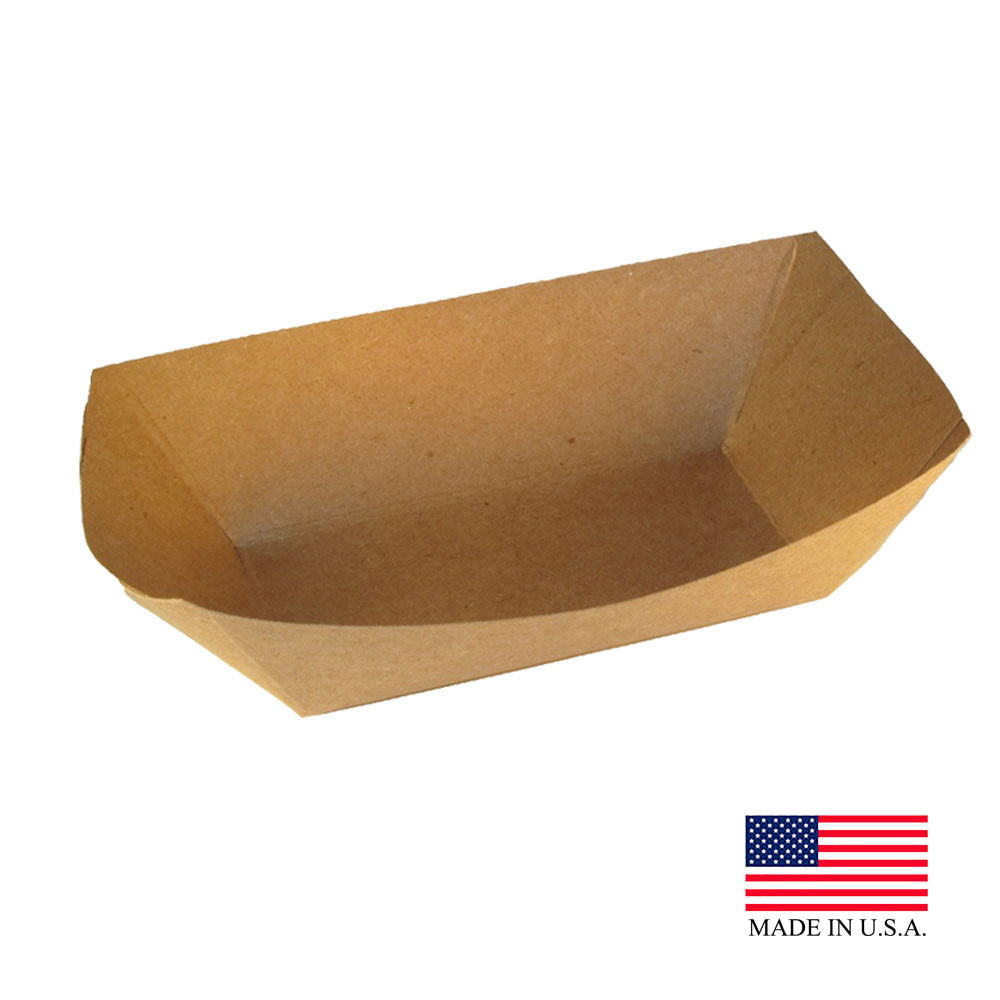 Specialty Quality Kraft Food Tray #100 7151
