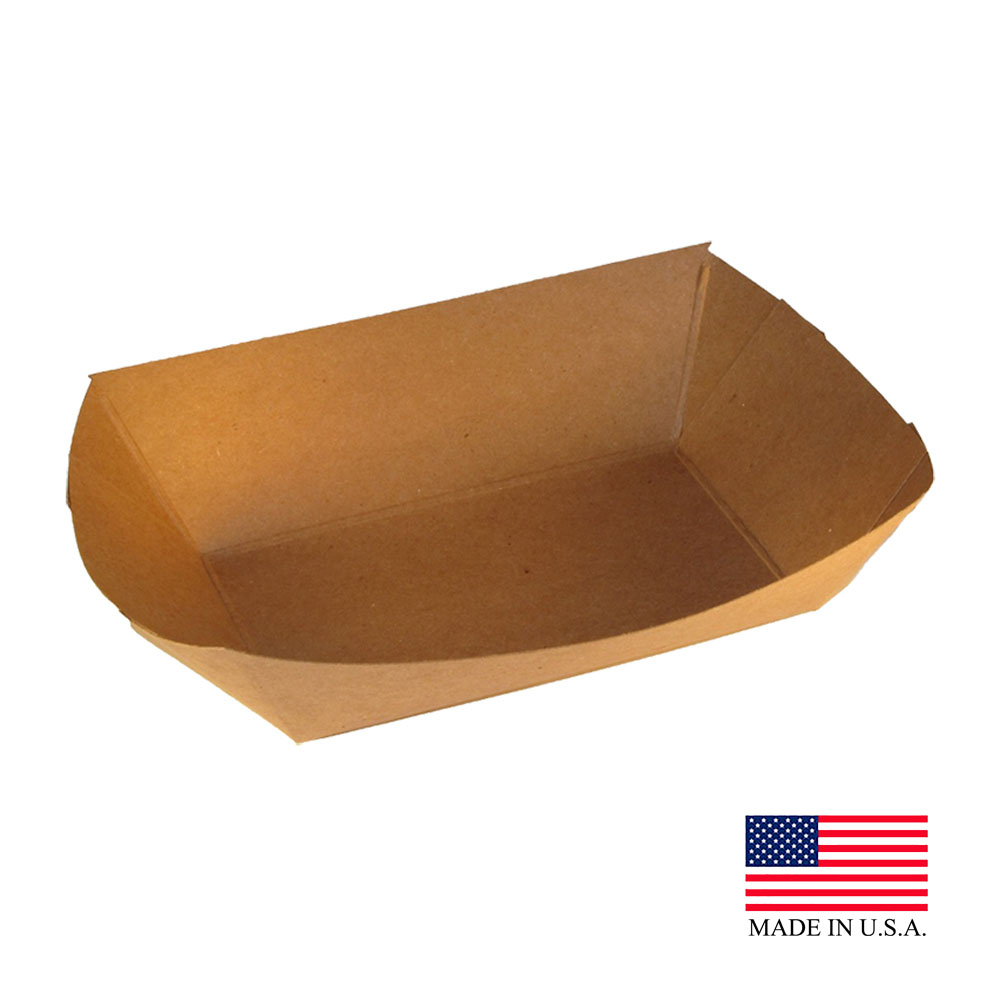 Specialty Quality Kraft Food Tray #200 7152
