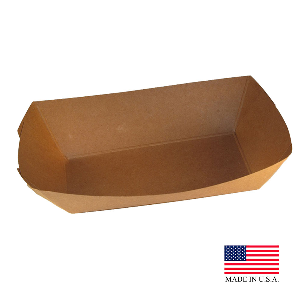 Specialty Quality Kraft Food Tray #300 7153