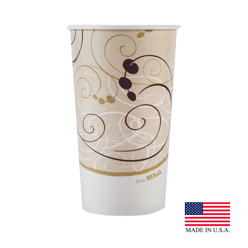 Solo Symphony 32-35oz Double Poly Cold Cup RP32NP-J8000