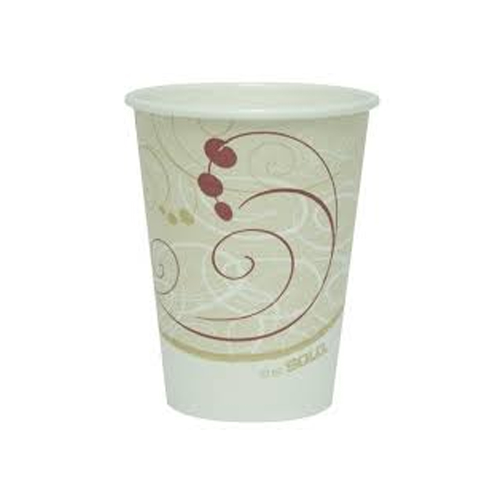 Solo Cup Printed 12oz Symphony Hot Cup 412SM-J8000