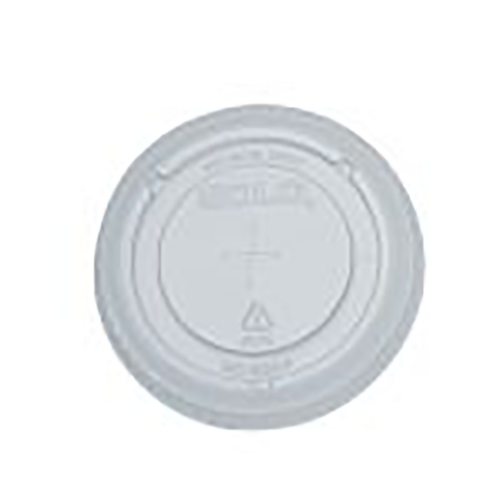 Dart - Clear Plastic 12-14 oz. Straw Slotted Lid For Y12s & Y14 Cup 695TS