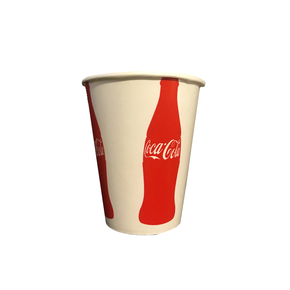 Dopaco Printed 12oz Coke Paper Cold Cup D12CCCC