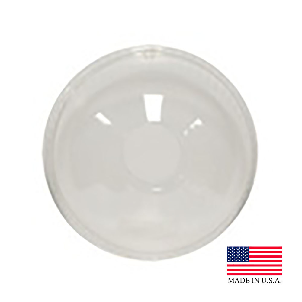 Solo Cup Clear Plastic Dome Lid With Hold Lid     DLR626