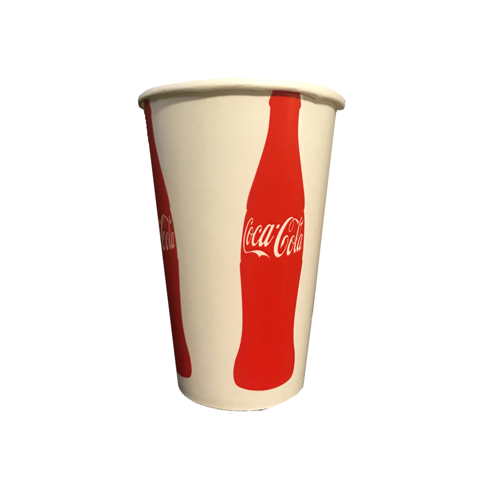 Dopaco Printed 16oz Coke Paper Cold Cup D16CCCC