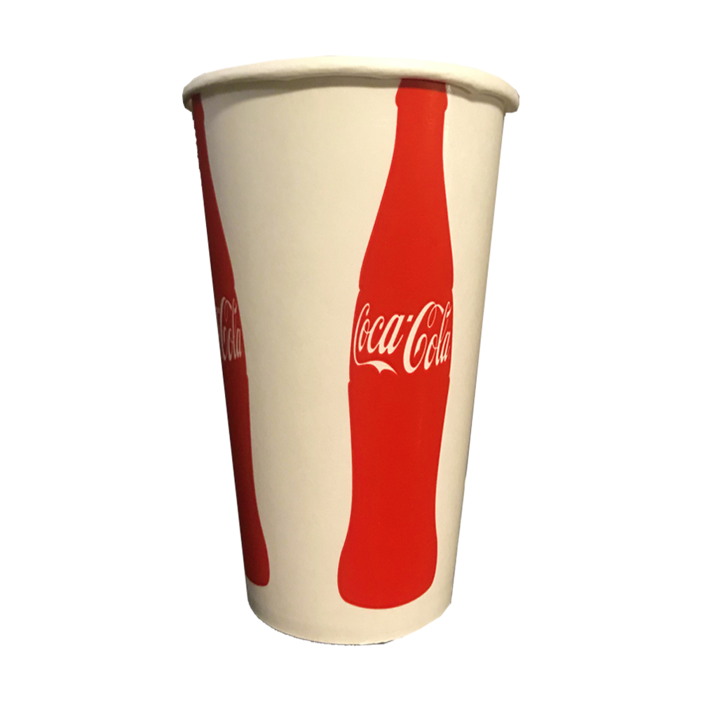 Dopaco Printed 22oz Coke Paper Cold Cup D22CCCC