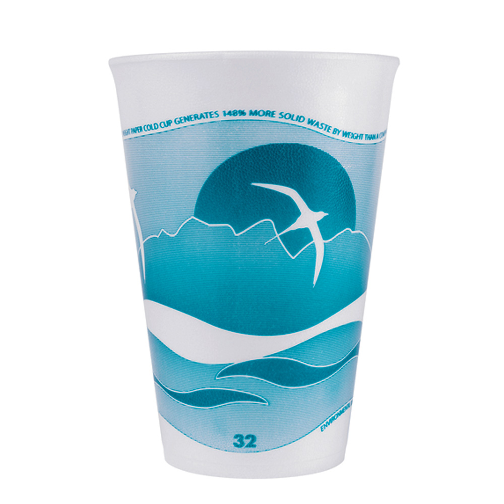Dart - LX Horizon Blue 32 oz. Insulated Foam Cup  32LX32H