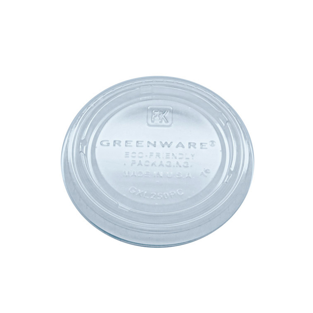 Fabrikal Clear 2oz Greenware Potion Cup Lid For Gpc200 GXL250/9509321