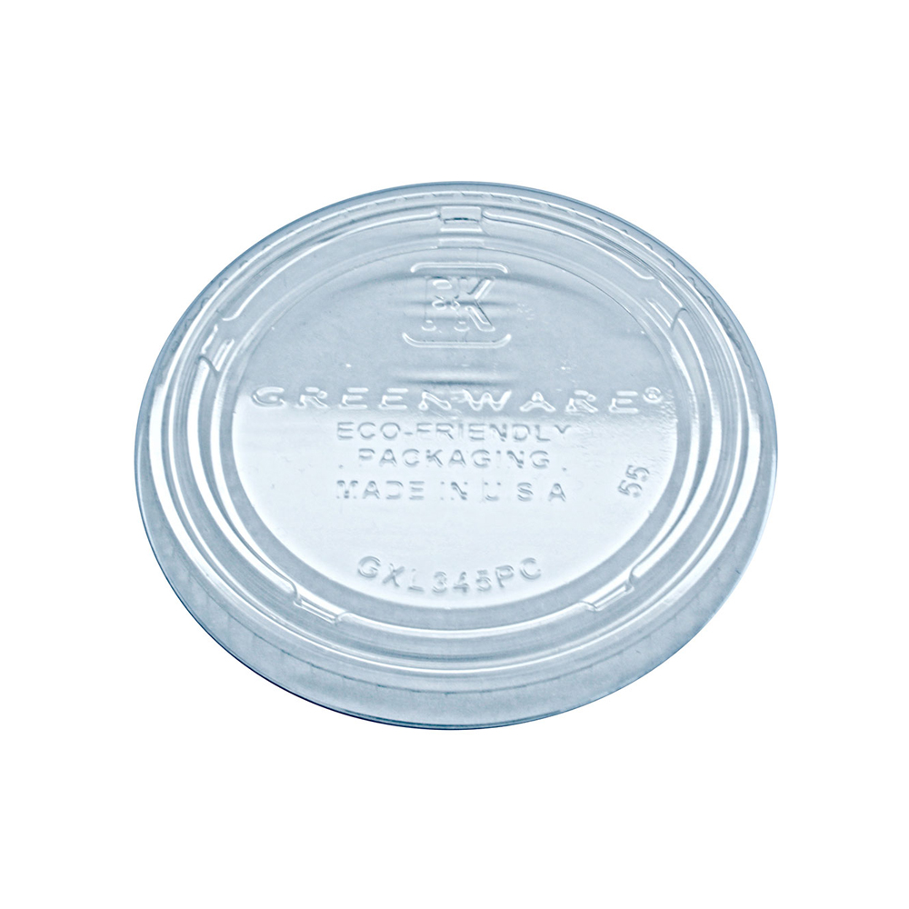 Fabrikal Clear 4oz Greenware Potion Cup Lid GXL345PC/9509322