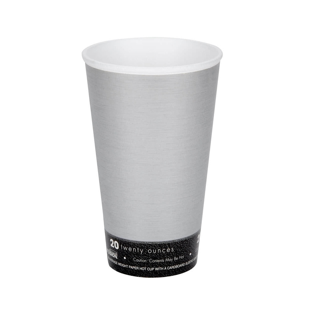 Dart - Fusion Steele 20 oz. Insulated Foam Hot Cup 20U16FS