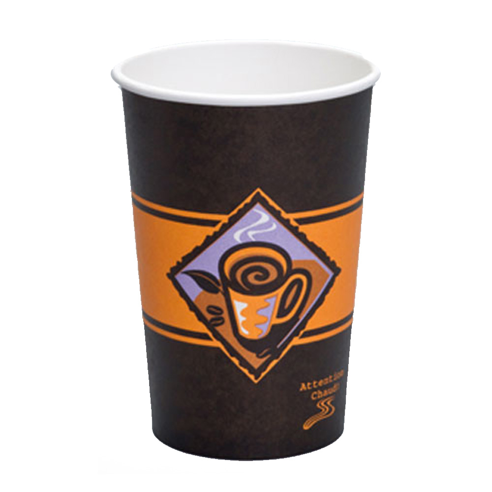 GenPak 16oz Gourmet Cafe Hot Cup HD425