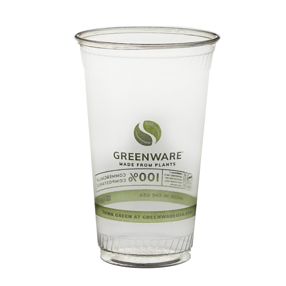 Fabrikal Clear 24oz Greenwear Cup GC24/9509211