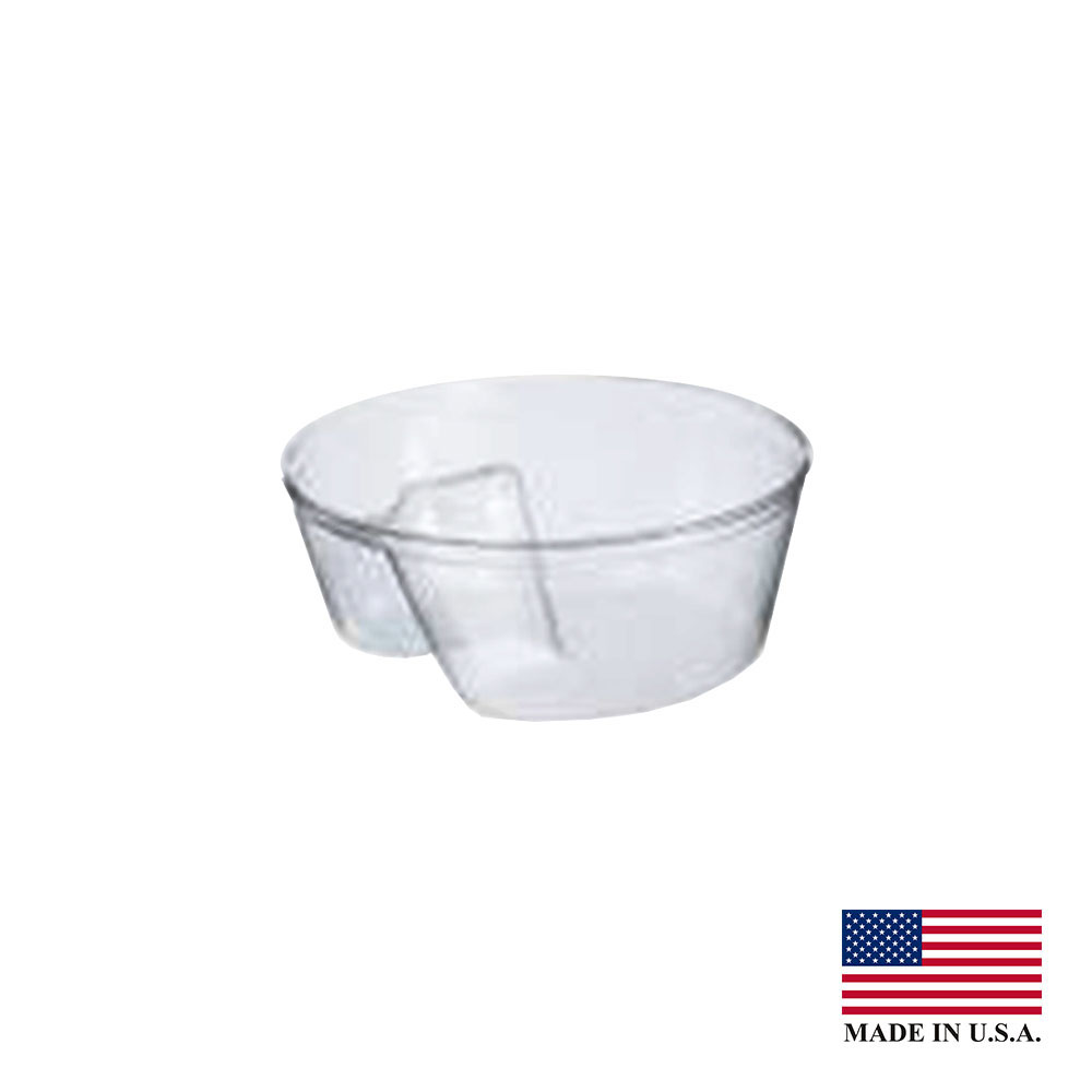 Solo Cup Co. - Clear Single Compartment Plastic Cup Insert PF35C1
