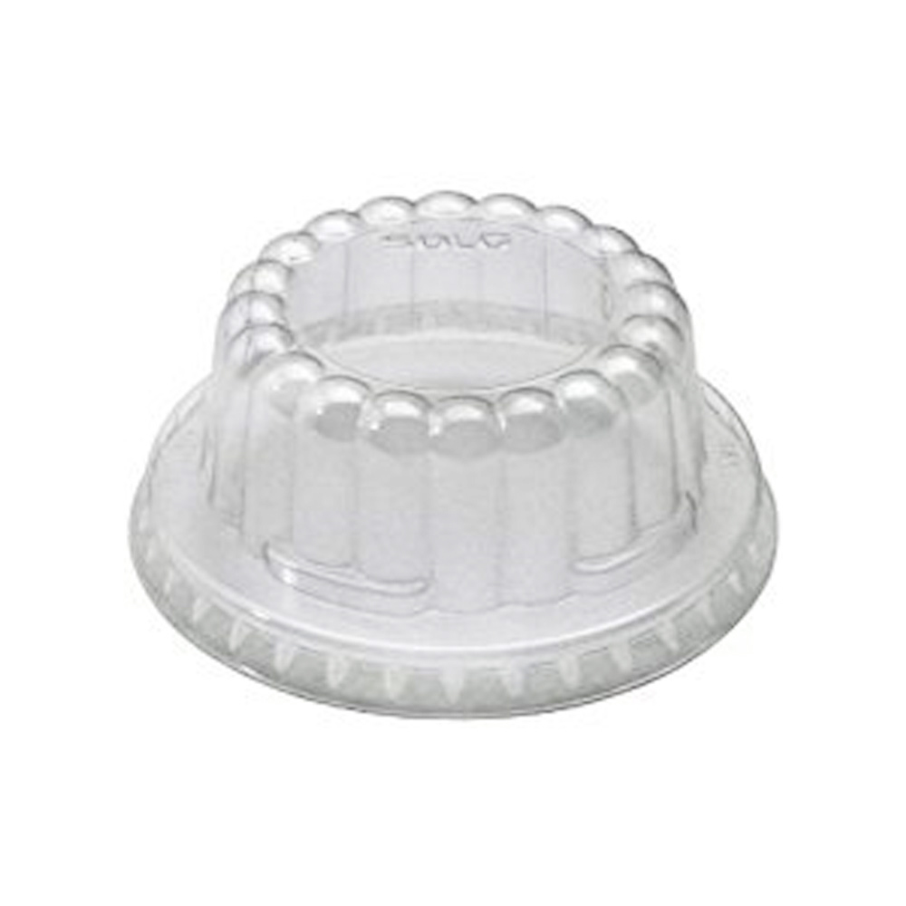 Solo Cup Clear Plastic Food Container Pet Lid For VS535 DF35-0090