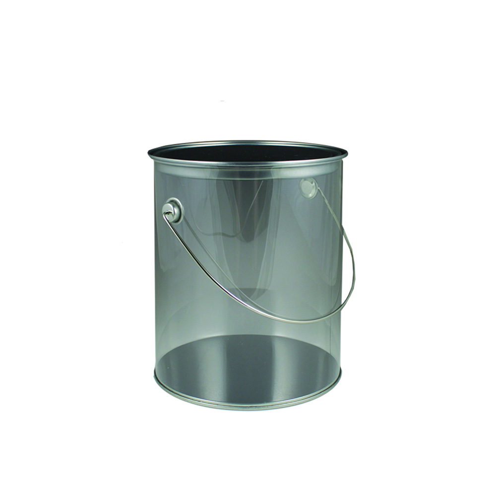 Maryland Plastics Inc. - Clear 35 oz. Plastic Paint Can MPI00946