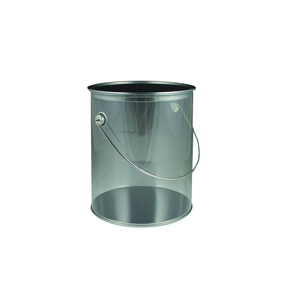 Maryland Plastics Inc. - Clear 20 oz. Plastic Paint Can MPI00956