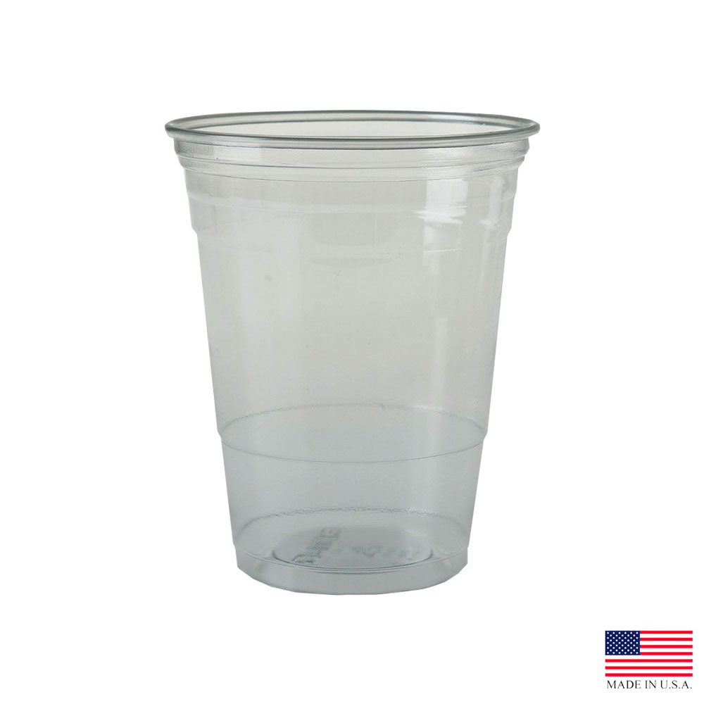 Solo Cup Clear 16oz Flush Fill Pet Cup TR16