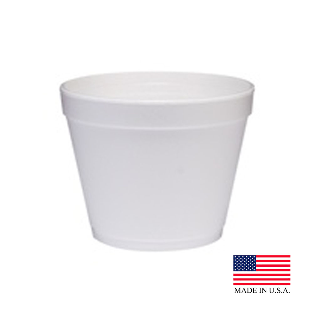 Dart White 24oz Foam Food Container 24MJ48