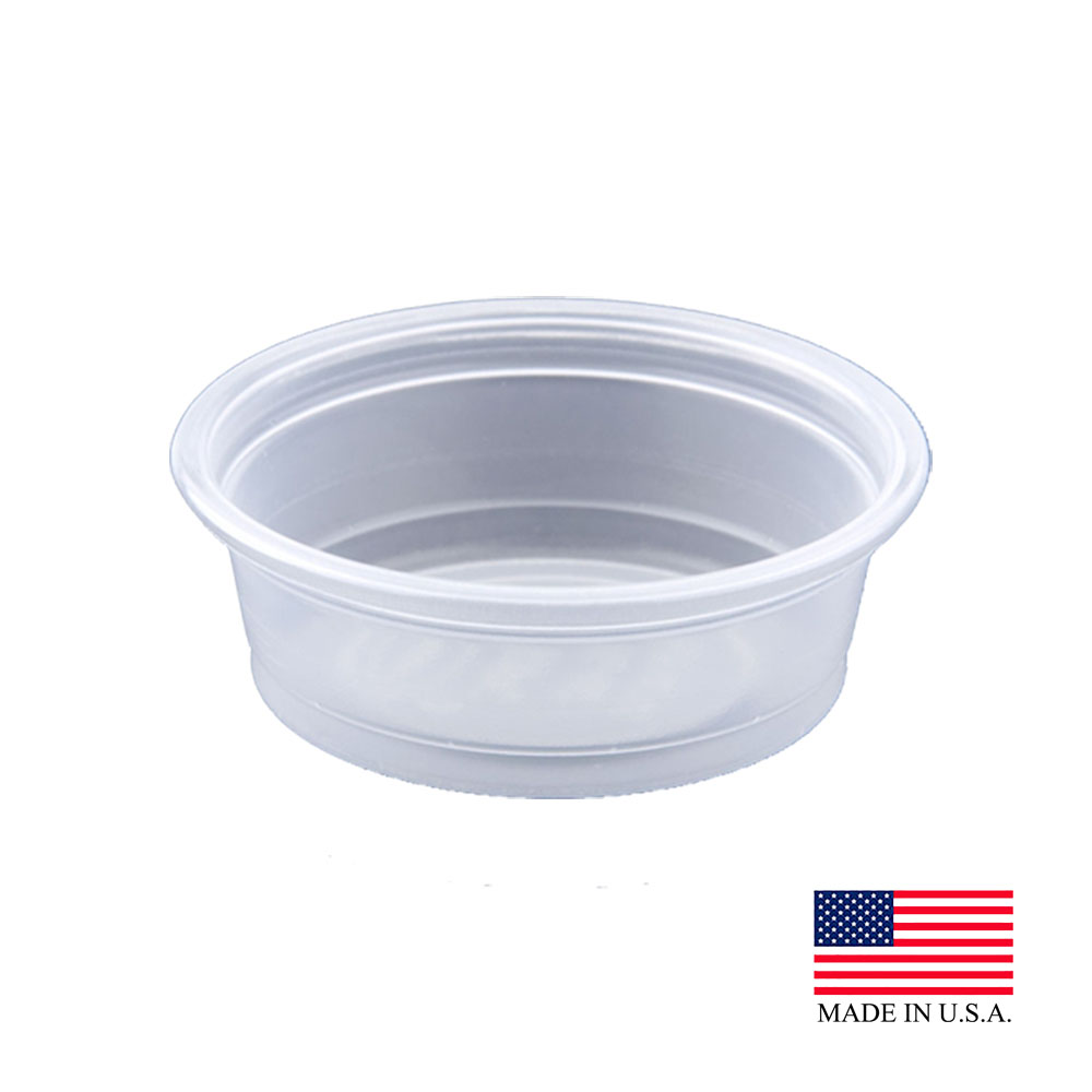 Dart Clear 0.5oz Portion Container 050PC