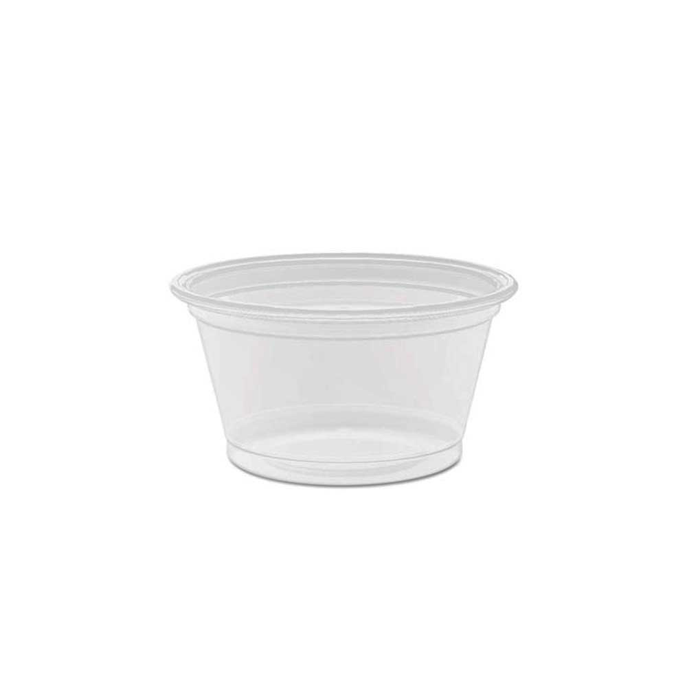 Dart Clear .75oz Plastic Portion Container 075PC