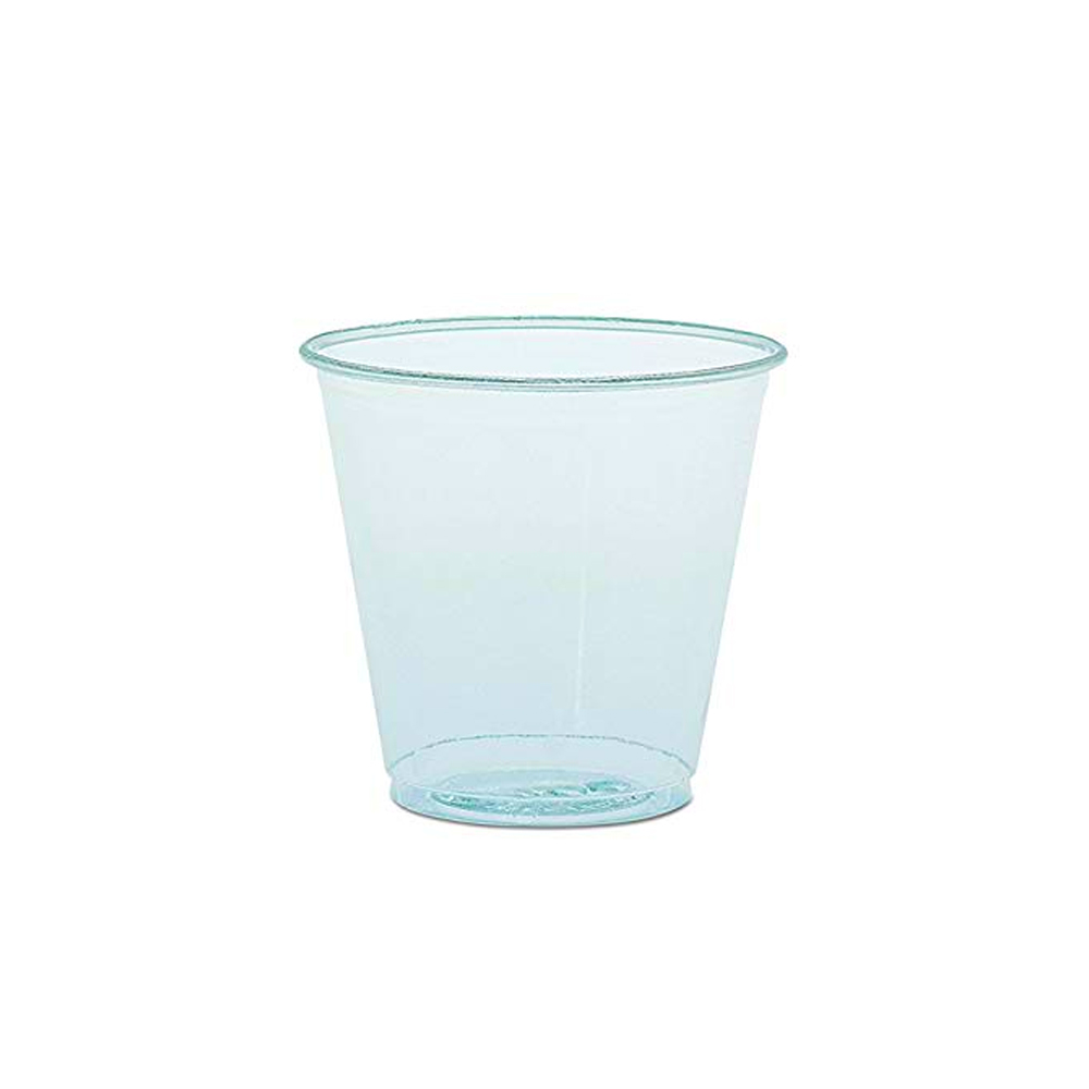 Solo Cup Co. - Clear 3.5 oz. Plastic Sampling Cup TK35