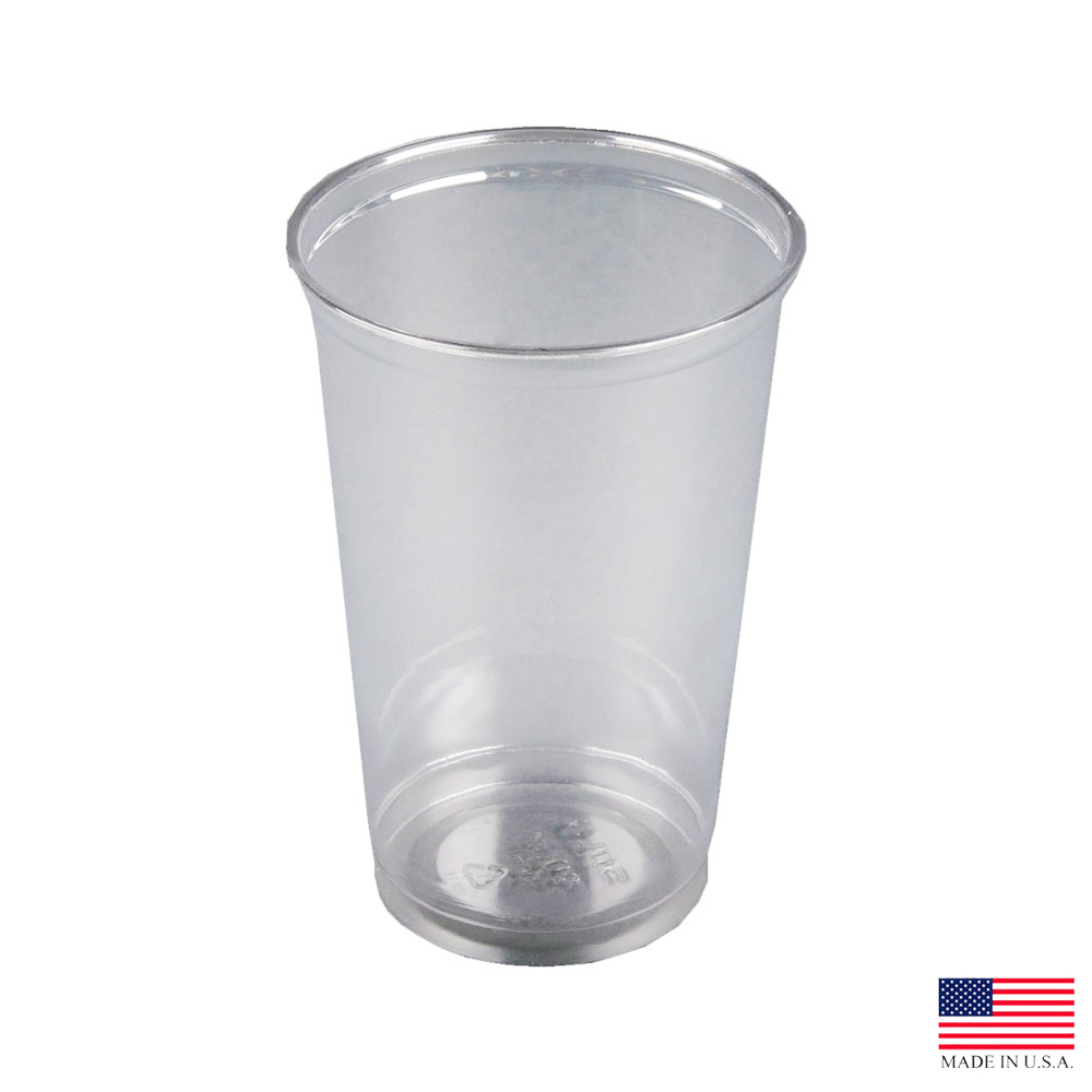 Solo Cup Clear 20oz Straight Wall Pet Cup TN20