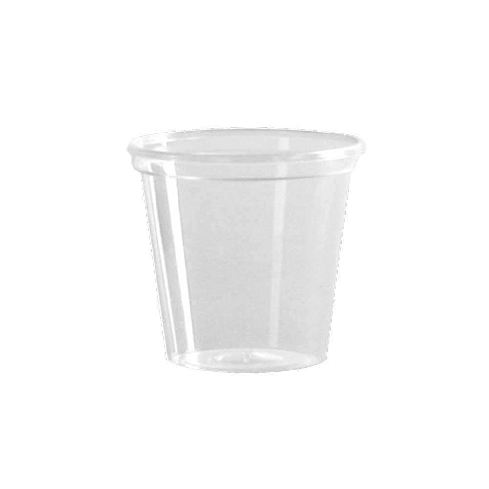 WNA/Comet - Clear 1 oz. Plastic Shot Glass P10