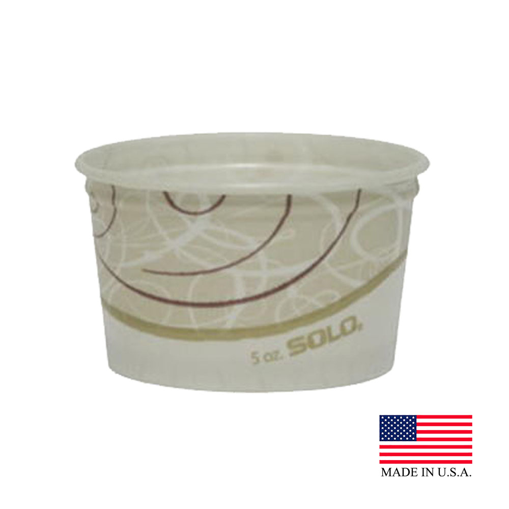 Solo Symphony 5oz Paper Food Container S605T-J8000