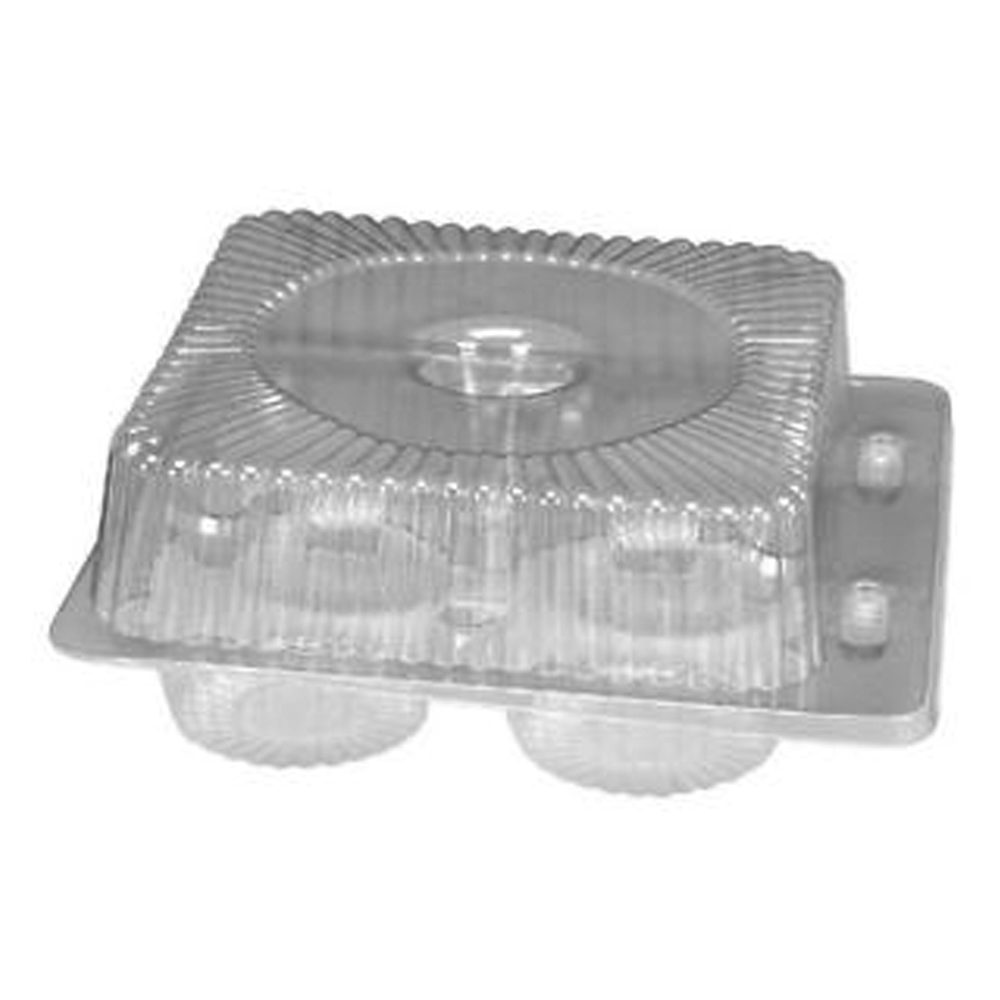 Douglas Stephen Clear 4 Count Muffinf Container BL40SP