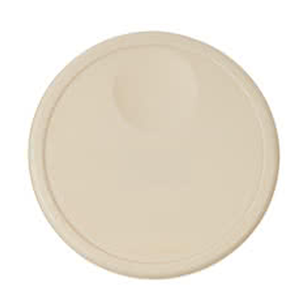 Rubbermaid Commercial - Beige 12 Qt Round Plastic Container Lid1980392