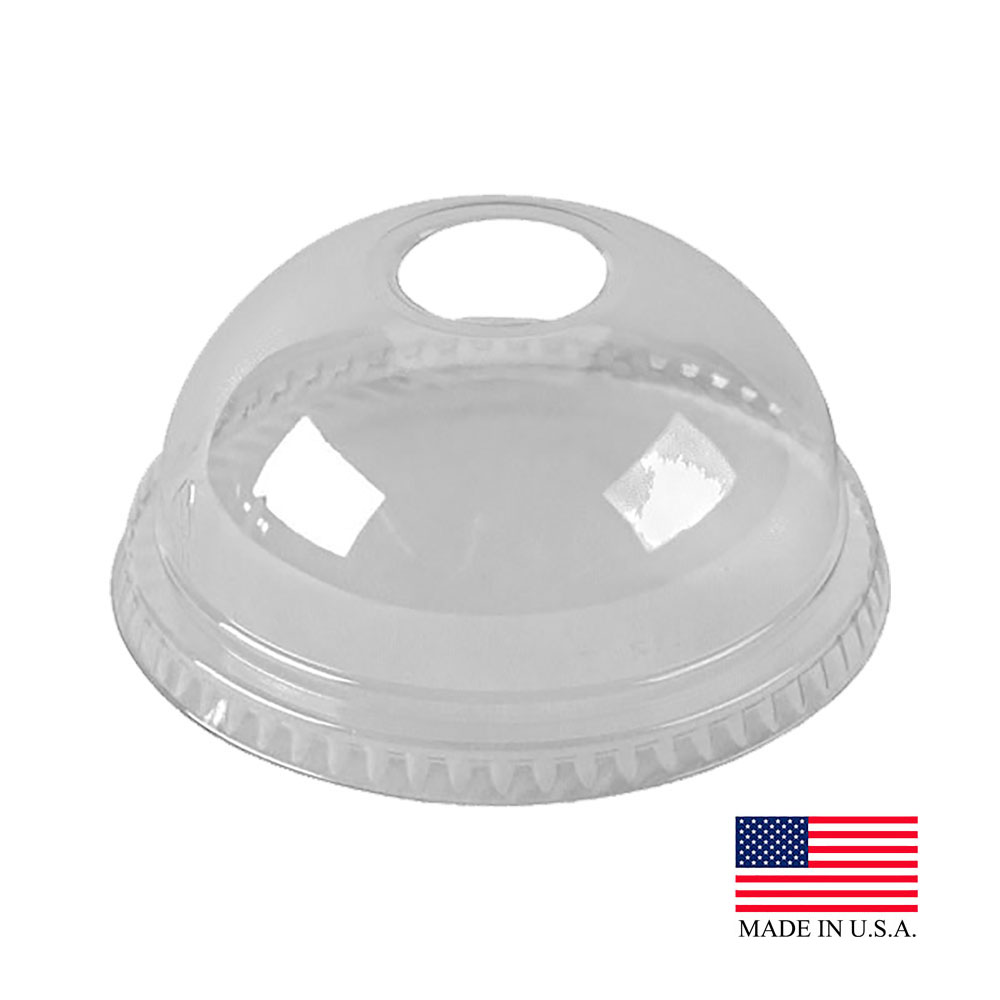 Solo Cup Clear Dome Lid DNR662