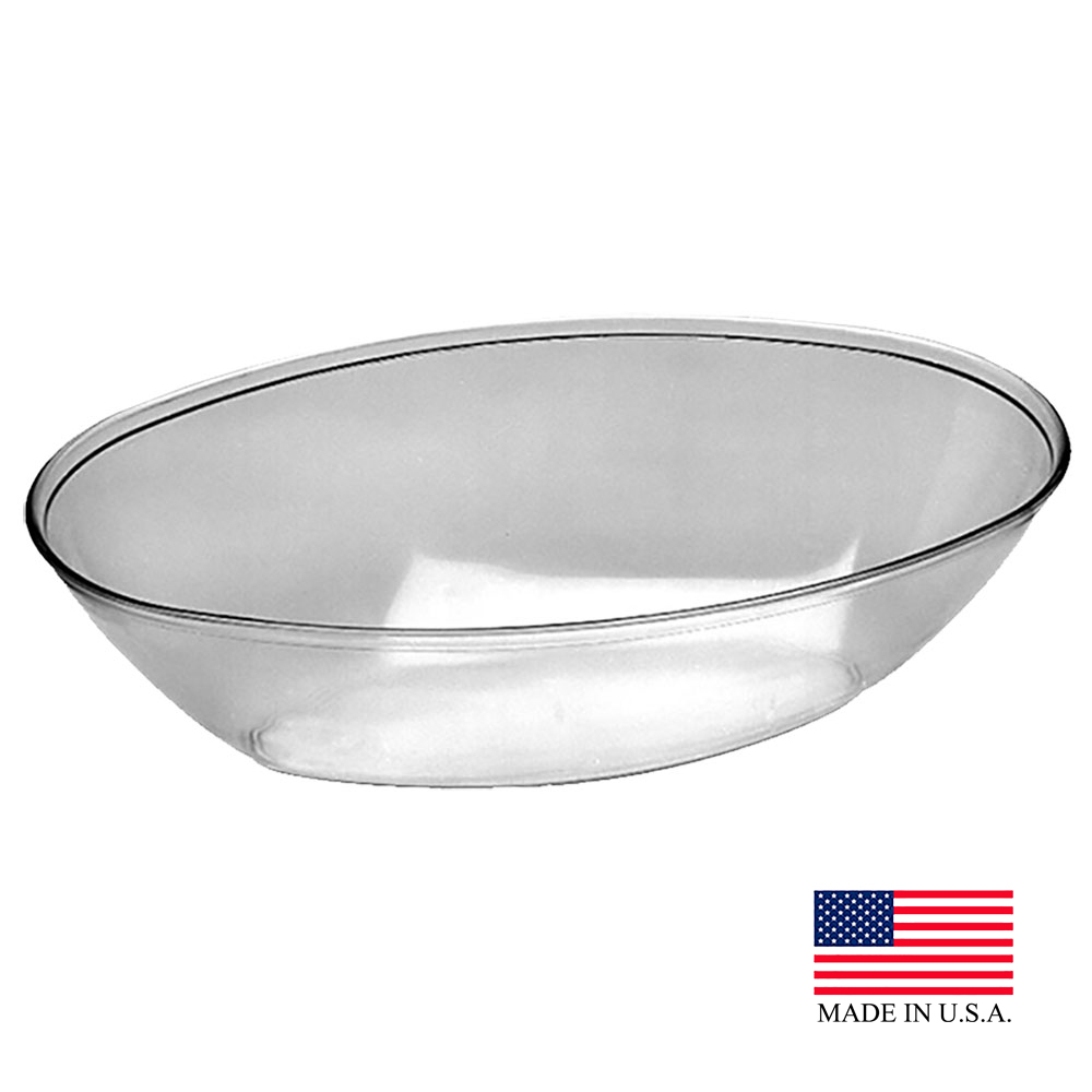 Douglas Stephen Clear 2qt Oval Bowl 100R