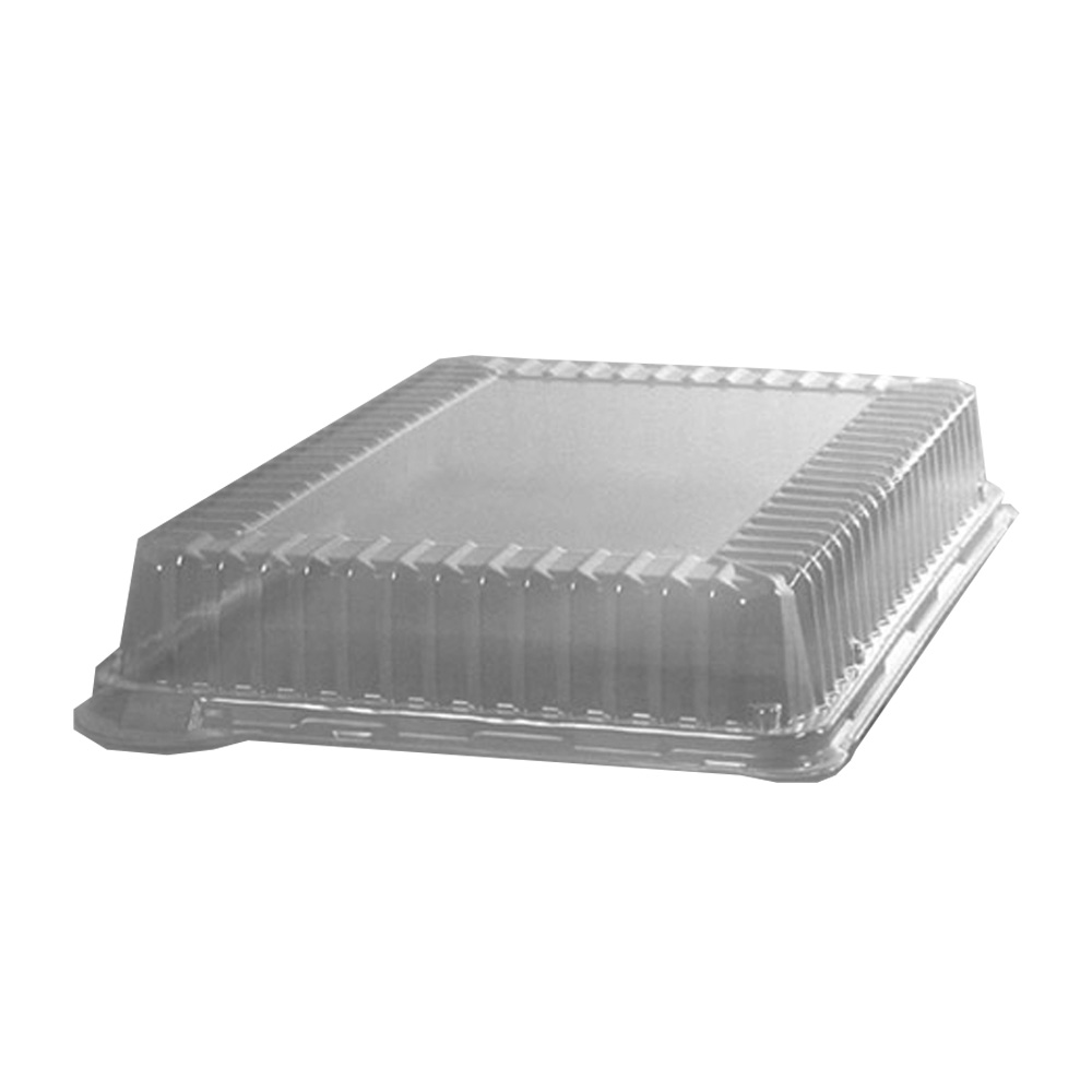 "Comet Clear 14""x10"" Rectangular Plastic Dome Lid A1410DM"