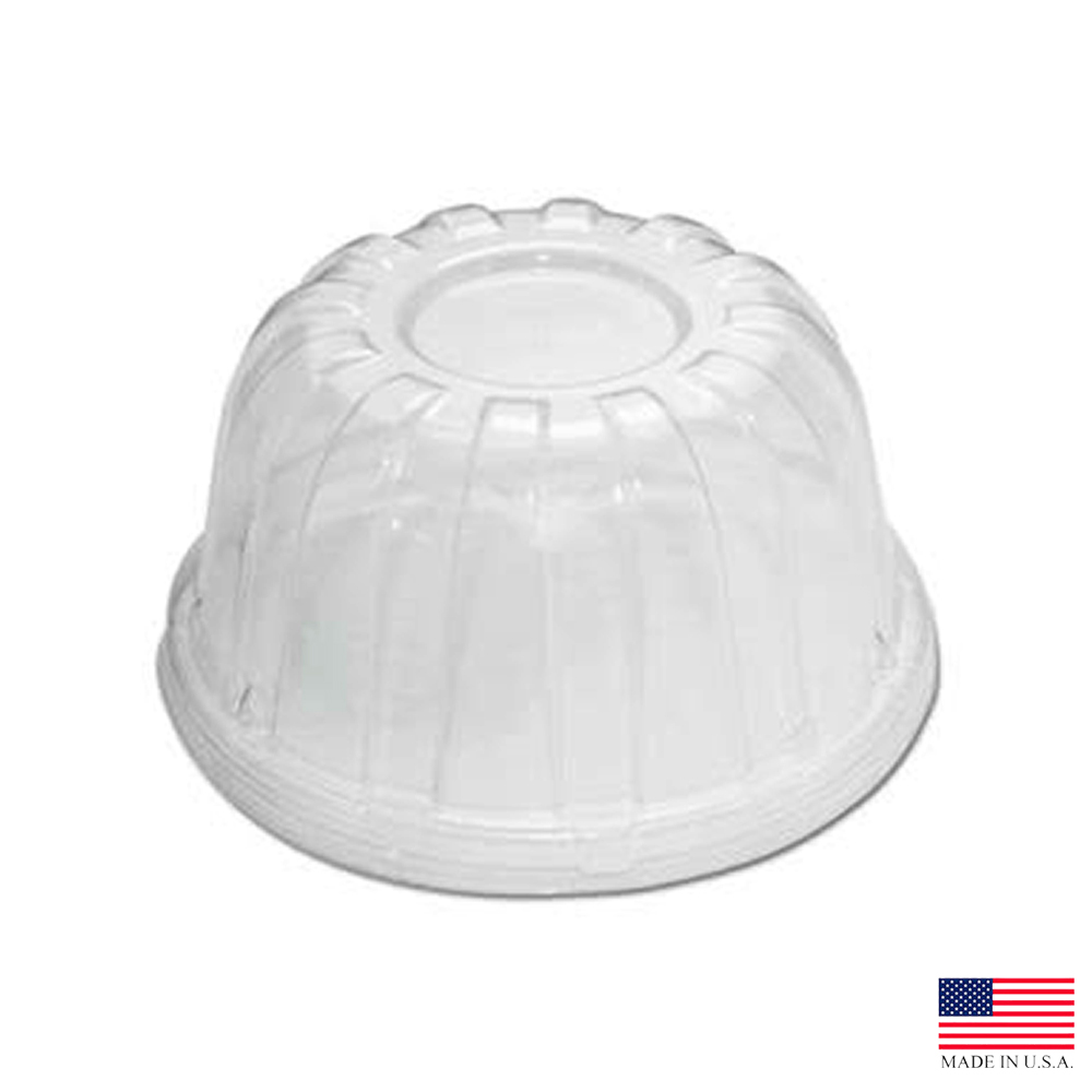 Dart - Clear Plastic 8-44 oz. High Dome Lid For Foam Cup 32HDLC