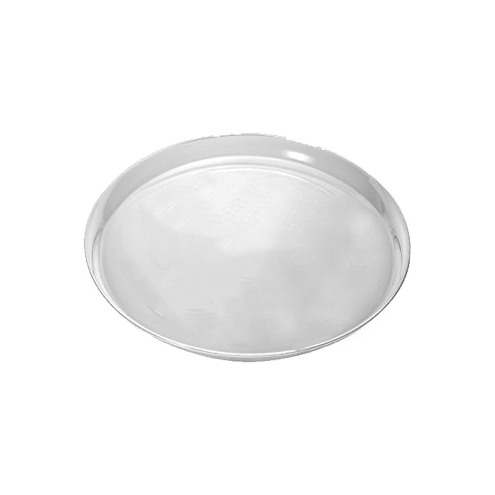 "Douglas Stephen Clear 12"" Round Stakmate Tray STAK12R"