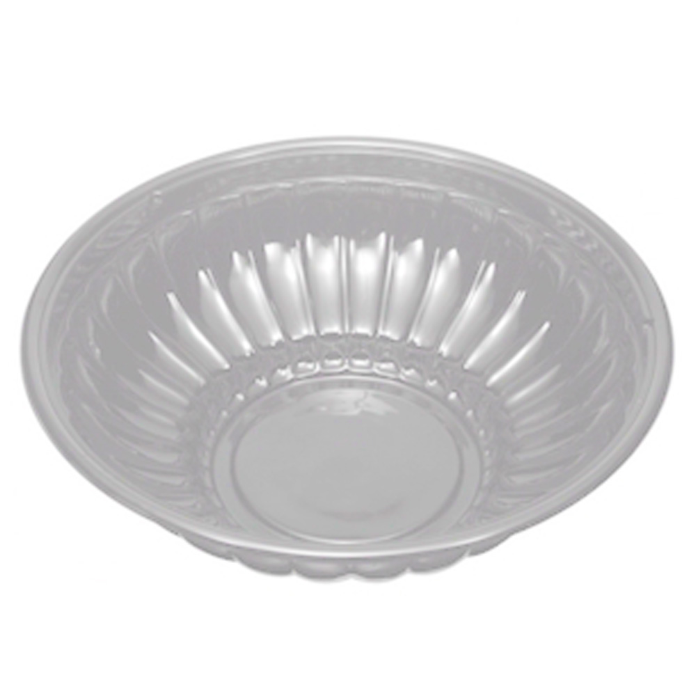Douglas Stephen - Clear 112 oz. Round Plastic Bowl 2112CL