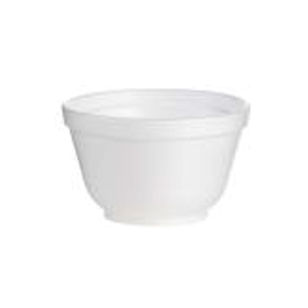 Dart White 6oz Insulated Foam Bowl 6B12