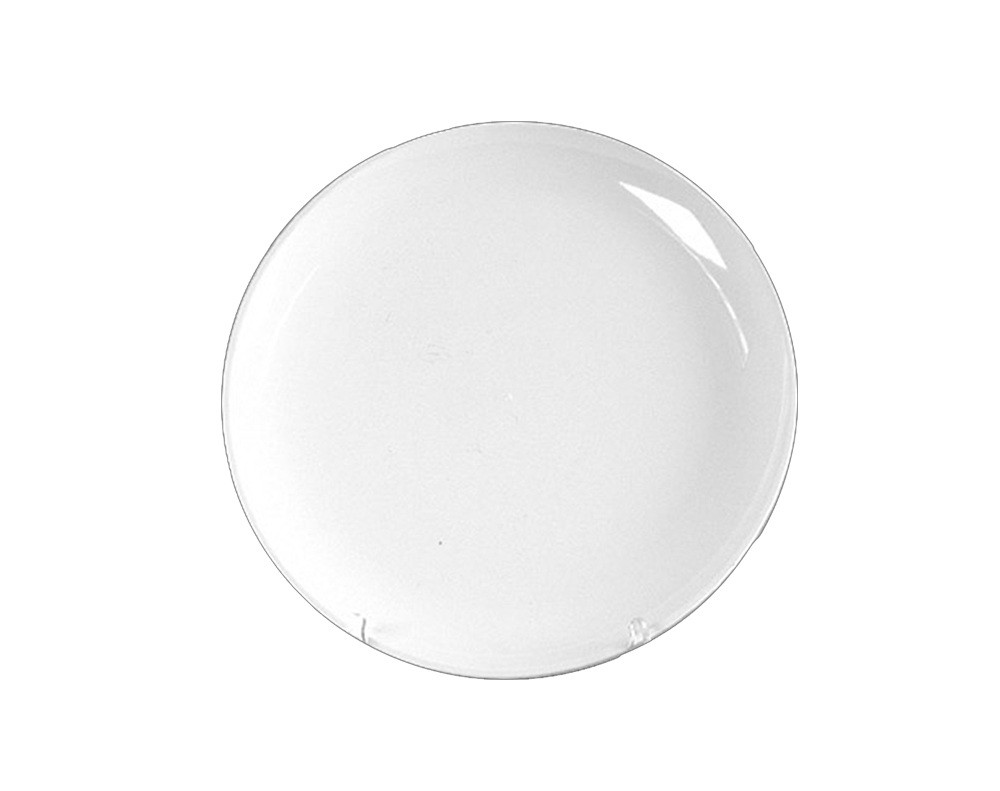 "Comet White 12"" Round Tray A7129PWH25"
