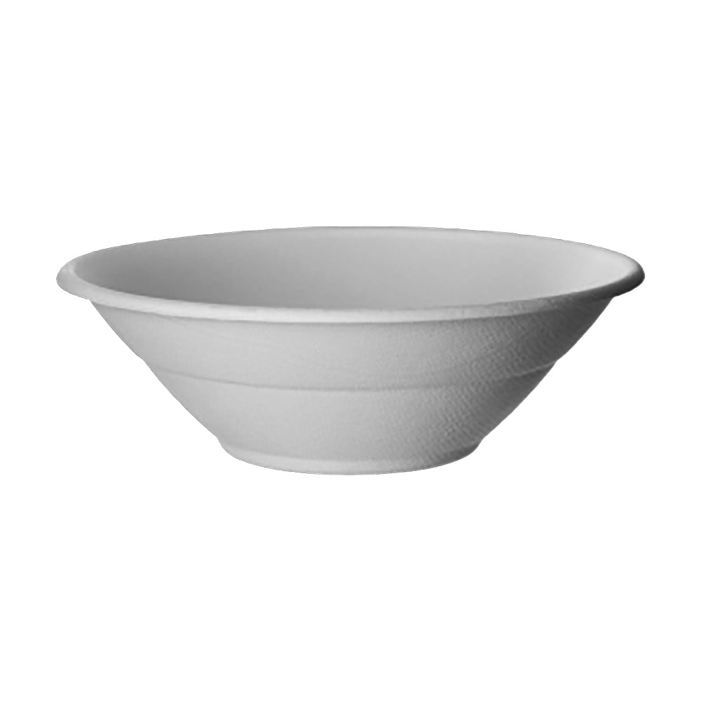 Eco Products White 32oz Sugarcane Bowl EP-BL32